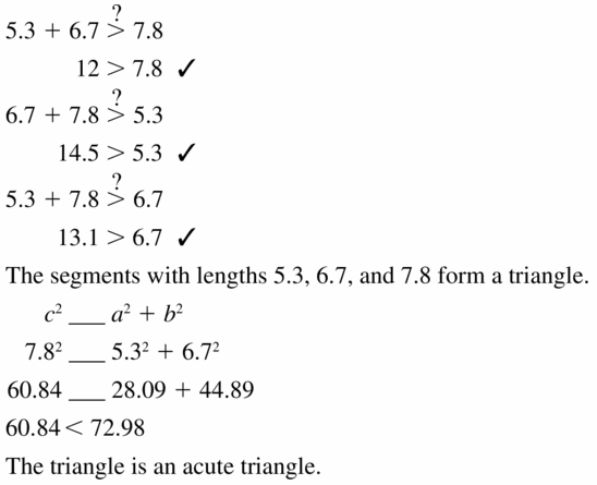 Big Ideas Math Geometry Answers Chapter 9 Right Triangles and Trigonometry 9.1 Ans 25