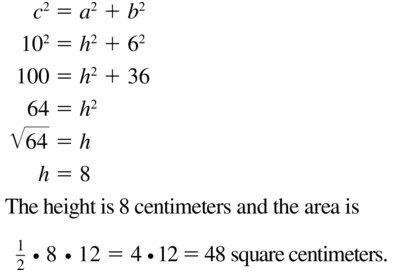 Big Ideas Math Geometry Answers Chapter 9 Right Triangles and Trigonometry 9.1 Ans 33