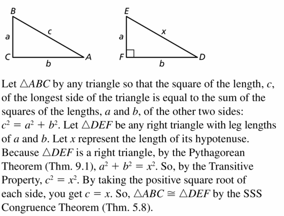 Big Ideas Math Geometry Answers Chapter 9 Right Triangles and Trigonometry 9.1 Ans 39