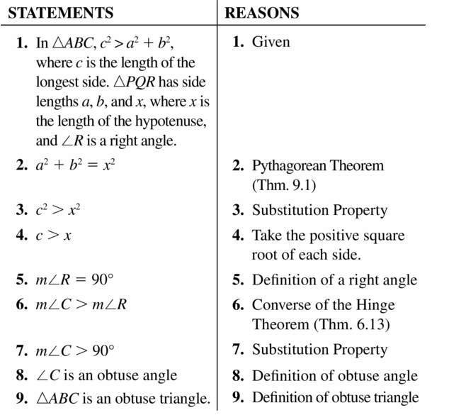 Big Ideas Math Geometry Answers Chapter 9 Right Triangles and Trigonometry 9.1 Ans 43.2