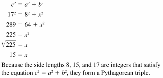 Big Ideas Math Geometry Answers Chapter 9 Right Triangles and Trigonometry 9.1 Ans 7