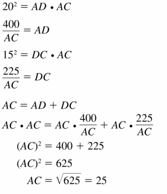 Big Ideas Math Geometry Answers Chapter 9 Right Triangles and Trigonometry 9.3 Ans 37.1
