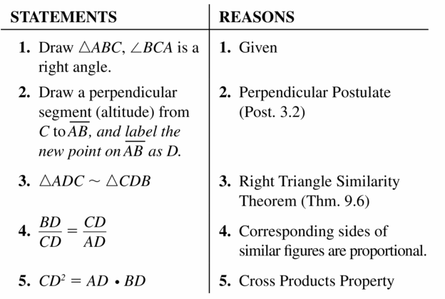 Big Ideas Math Geometry Answers Chapter 9 Right Triangles and Trigonometry 9.3 Ans 41.2