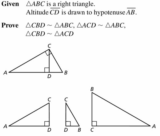 Big Ideas Math Geometry Answers Chapter 9 Right Triangles and Trigonometry 9.3 Ans 45.1