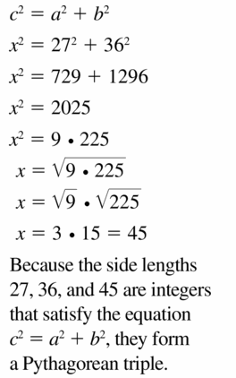 Big Ideas Math Geometry Answers Chapter 9 Right Triangles and Trigonometry 9.5 Ans 43