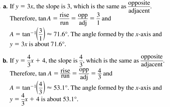 Big Ideas Math Geometry Answers Chapter 9 Right Triangles and Trigonometry 9.6 Ans 29