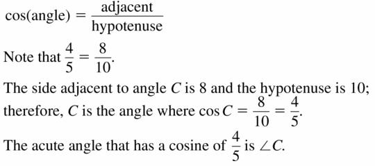 Big Ideas Math Geometry Answers Chapter 9 Right Triangles and Trigonometry 9.6 Ans 3