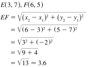 Big Ideas Math Geometry Solutions Chapter 1 Basics of Geometry 1.3 a 25