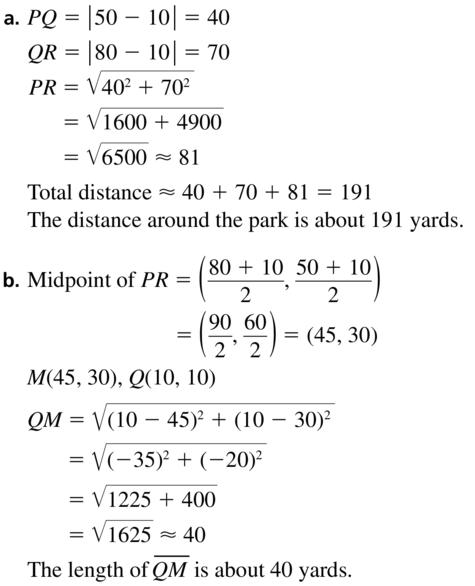 Big Ideas Math Geometry Solutions Chapter 1 Basics of Geometry 1.3 a 39.1