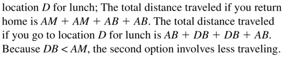 Big Ideas Math Geometry Solutions Chapter 1 Basics of Geometry 1.3 a 43