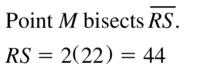 Big Ideas Math Geometry Solutions Chapter 1 Basics of Geometry 1.3 a 5
