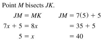 Big Ideas Math Geometry Solutions Chapter 1 Basics of Geometry 1.3 a 7