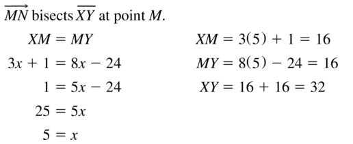 Big Ideas Math Geometry Solutions Chapter 1 Basics of Geometry 1.3 a 9