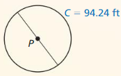 Big Ideas Math Geometry Solutions Chapter 11 Circumference, Area, and Volume 301