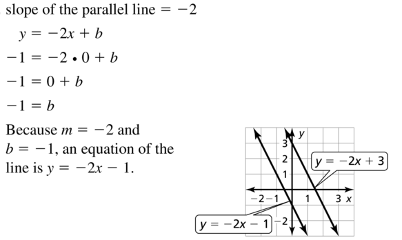 Big Ideas Math Geometry Solutions Chapter 3 Parallel and Perpendicular Lines 3.5 a 13