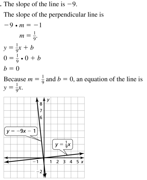 Big Ideas Math Geometry Solutions Chapter 3 Parallel and Perpendicular Lines 3.5 a 17
