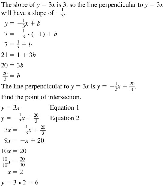 Big Ideas Math Geometry Solutions Chapter 3 Parallel and Perpendicular Lines 3.5 a 21.1