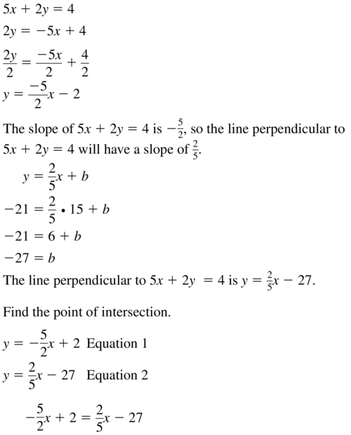 Big Ideas Math Geometry Solutions Chapter 3 Parallel and Perpendicular Lines 3.5 a 23.1