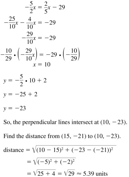 Big Ideas Math Geometry Solutions Chapter 3 Parallel and Perpendicular Lines 3.5 a 23.2