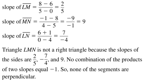 Big Ideas Math Geometry Solutions Chapter 3 Parallel and Perpendicular Lines 3.5 a 33