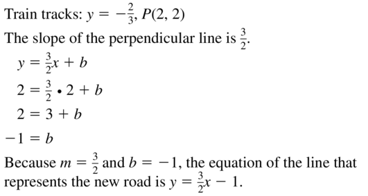 Big Ideas Math Geometry Solutions Chapter 3 Parallel and Perpendicular Lines 3.5 a 35