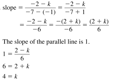 Big Ideas Math Geometry Solutions Chapter 3 Parallel and Perpendicular Lines 3.5 a 43