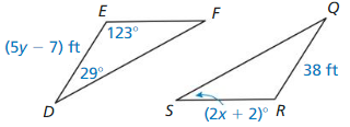 Big Ideas Math Geometry Solutions Chapter 5 Congruent Triangles 128