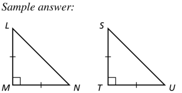 Big Ideas Math Geometry Solutions Chapter 5 Congruent Triangles 5.5 a 33