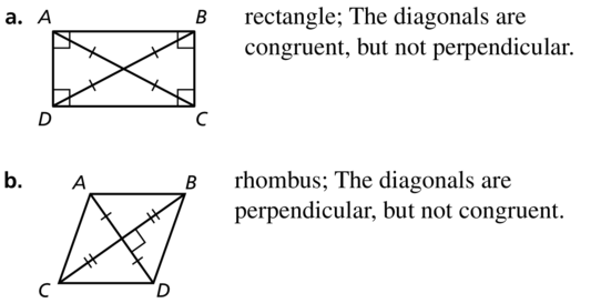 Big Ideas Math Geometry Solutions Chapter 7 Quadrilaterals and Other Polygons 7.5 a 43