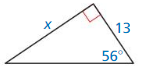 Big Ideas Math Geometry Solutions Chapter 9 Right Triangles and Trigonometry 119