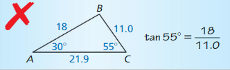 Big Ideas Math Geometry Solutions Chapter 9 Right Triangles and Trigonometry 130