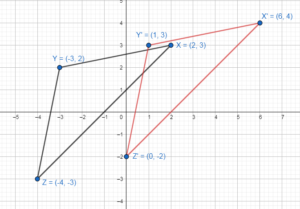 Big Ideas Math Solution Key Geometry Chapter 4 transformations img_4