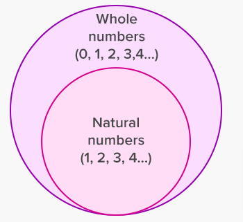 Difference Between Whole Numbers and Natural Numbers