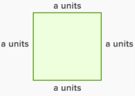 Perimeter of a Square Figure