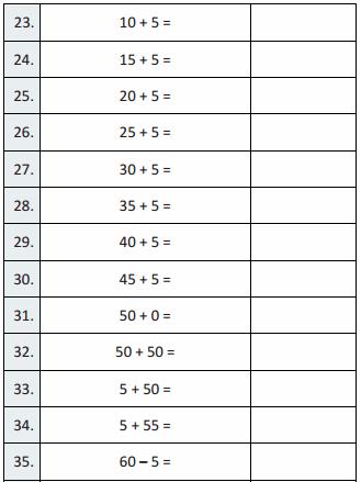 Eureka Math Grade 3 Module 1 Lesson 18 Sprint Answer Key 27