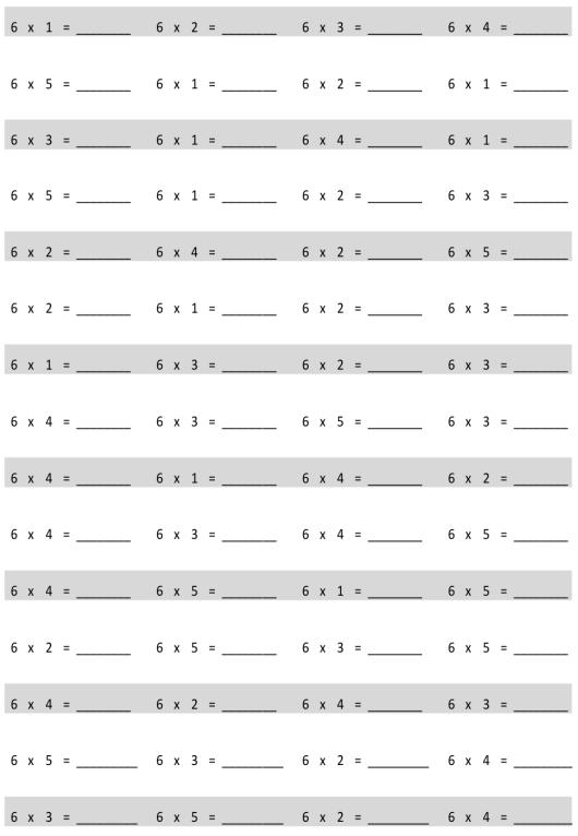 Eureka Math Grade 3 Module 3 Lesson 5 Pattern Sheet Answer Key 1
