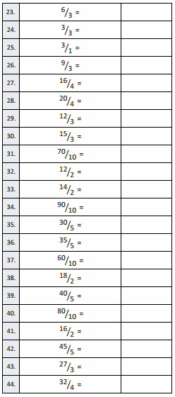 Eureka Math Grade 3 Module 5 Lesson 19 Sprint Answer Key 2