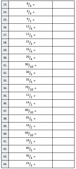 Eureka Math Grade 3 Module 5 Lesson 19 Sprint Answer Key 4