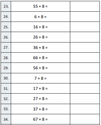 Eureka Math Grade 3 Module 5 Lesson 26 Sprint Answer Key 7
