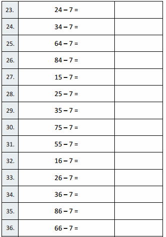 Eureka Math Grade 3 Module 5 Lesson 27 Sprint Answer Key 3