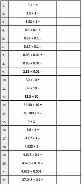 Eureka Math Grade 5 Module 1 Lesson 12 Sprint Answer Key 1