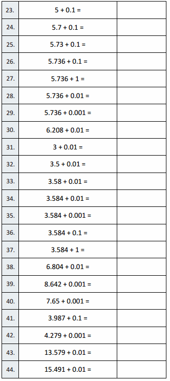 Eureka Math Grade 5 Module 1 Lesson 12 Sprint Answer Key 2