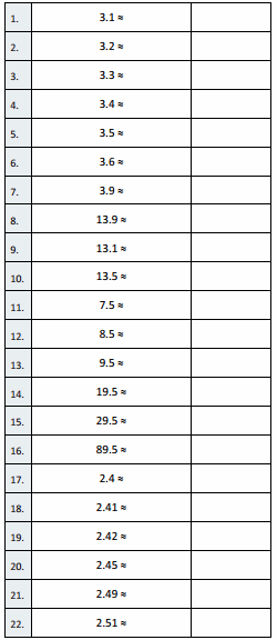 Eureka Math Grade 5 Module 1 Lesson 9 Sprint Answer Key 1