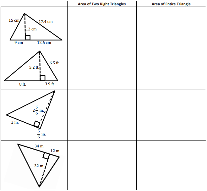 Eureka Math Grade 6 Module 5 Lesson 3 Exercise Answer Key 1
