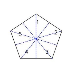 Five lines of symmetry