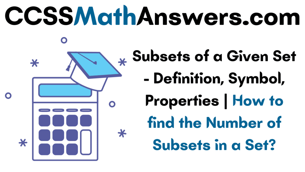 Subsets of a Given Set