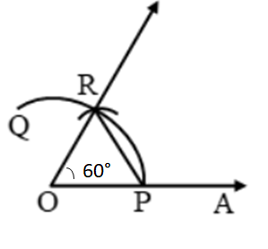 Construction Of Angles By Using Compass 1
