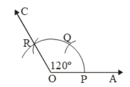 Construction Of Angles By Using Compass 4