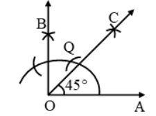 Construction Of Angles By Using Compass 6