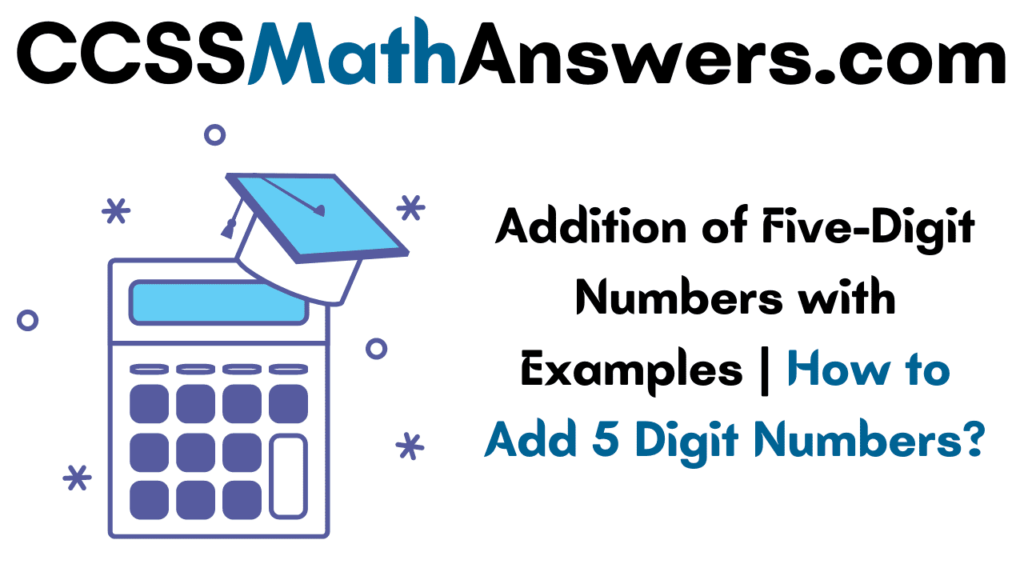 Addition of Five-Digit Numbers